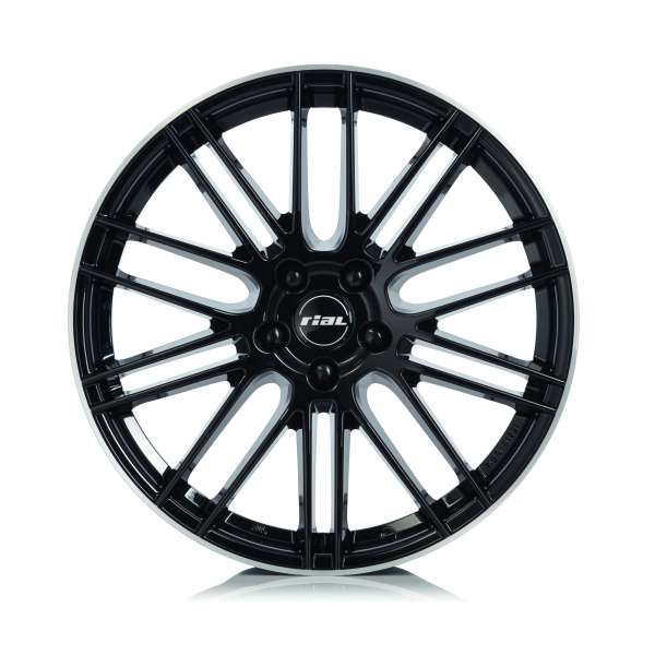 Rial Kibo 7.5x17/5x108 D70.1 ET47 diamond-black lip polished