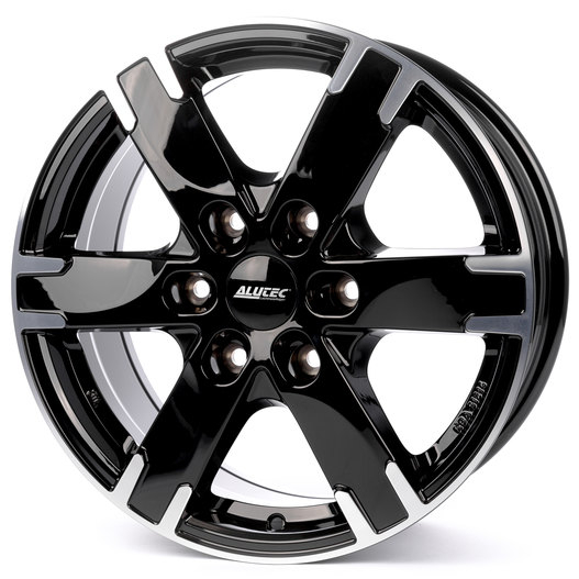 Alutec Titan 7x16/6x130 D84.1 ET55 diamond-black front polished
