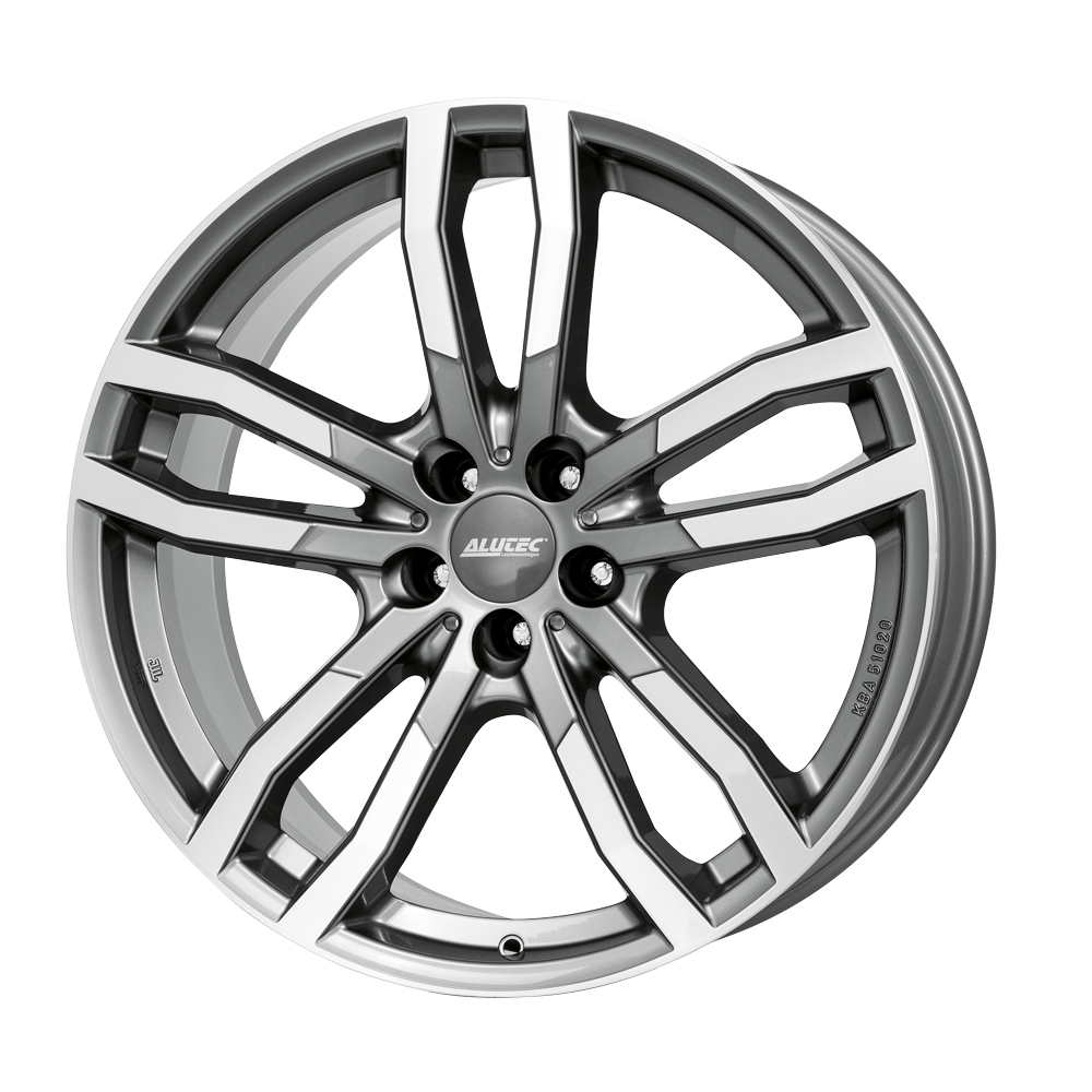 Alutec DriveX 8.5x19/5x112 D66.5 ET28 metal-grey front polished