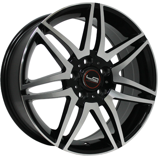 Replica LegeArtis MR100 7.5x17/5x112 D66.6 ET52.5 BKF