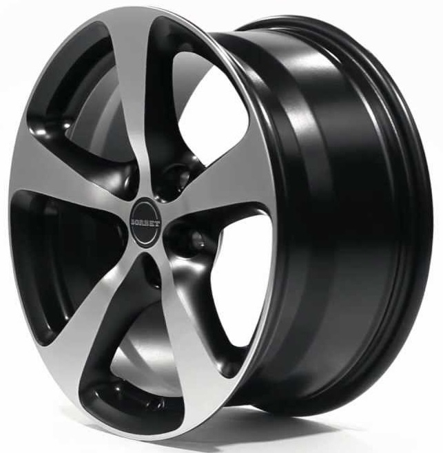 Borbet CC 8.5x18/5x112 D72.6 ET50 black polished matt