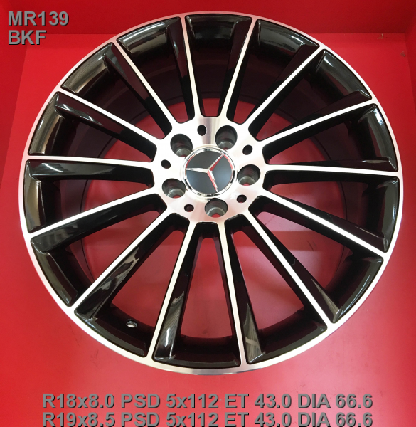 Replay MR139 7.5x17/5x112 D66.6 ET51 BKF