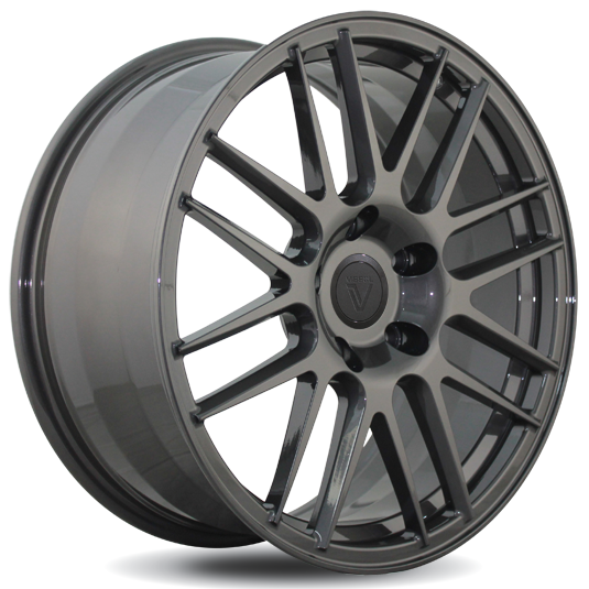 Vissol Forged F-308 8.5x19/5x130 D71.6 ET50 GLOSS-GRAPHITE