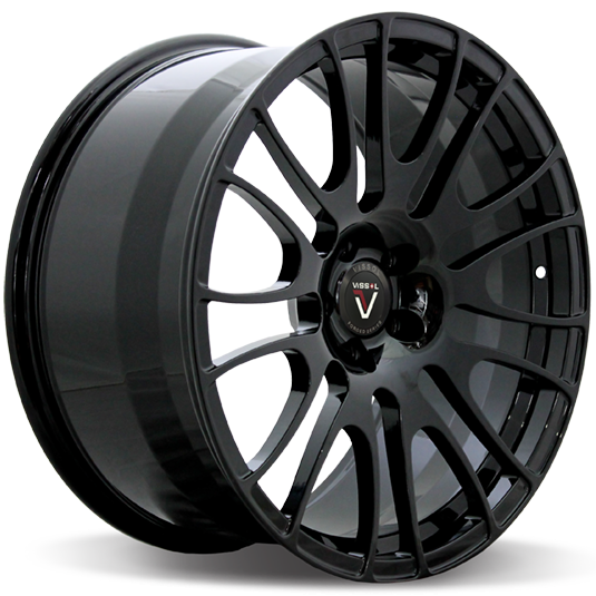 Vissol Forged F-303 10x20/5x120 D74.1 ET40 GLOSS-BLACK