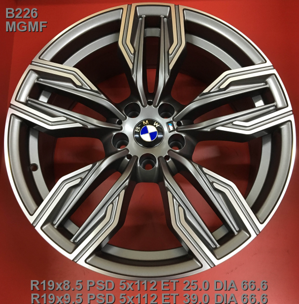 Replay B226 9.5x19/5x112 D66.6 ET39 MGMF