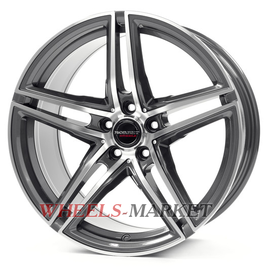 Borbet XRT 9.5x19/5x112 D72.6 ET40 graphite polished