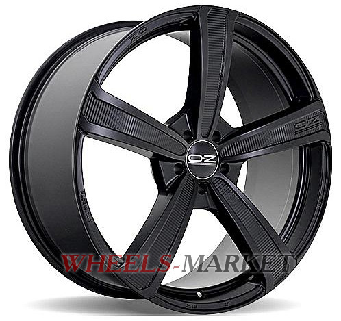 OZ Racing Montecarlo HLT 9.5x20/5x150 D110.1 ET42 Matt Black
