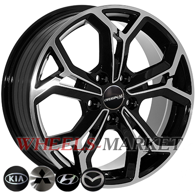 ZF FE190 7x17/5x114.3 D67.1 ET48.5 BMF