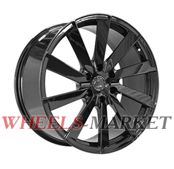 Vissol Forged F-1041L 9x22/6x139.7 D78.1 ET20 GLOSS-BLACK
