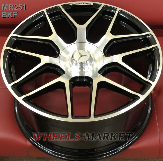 Replica MR251 8.5x19/5x112 D66.6 ET39 BKF