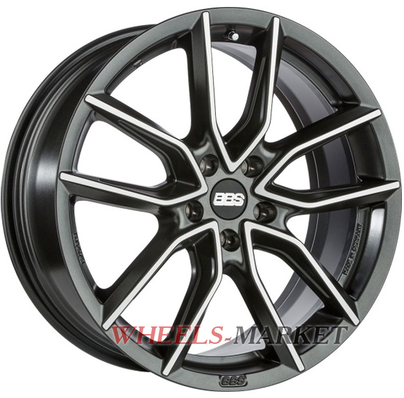 BBS XA 9.5x20/5x112 D82.1 ET35 night fever black diamondcut