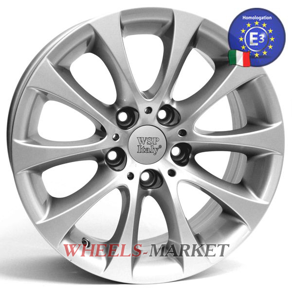 WSP Italy Alicuni W660 8.5x18/5X120 D72.6 ET34 SILVER