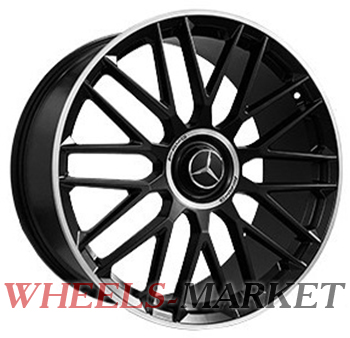 Replica Forged MR2160 11.5x23/5x112 D66.6 ET47 SATIN_BLACK_LIP_POLISH_FORGED
