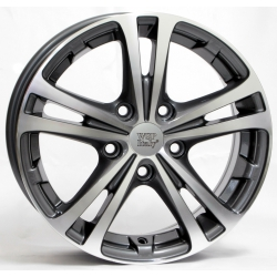 WSP Italy DANUBIO W3502 6.5x16/5X112 D57.1 ET50 Anthracite polished